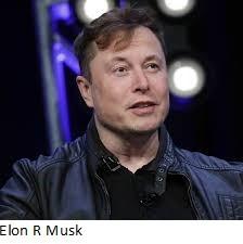 Elon R Musk