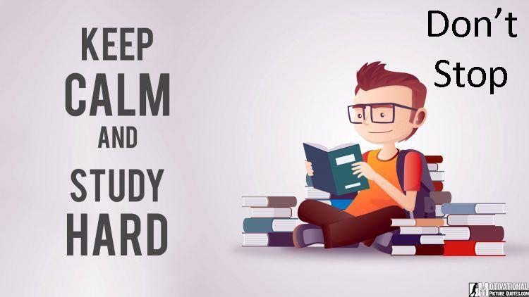 Jangan berhenti belajar